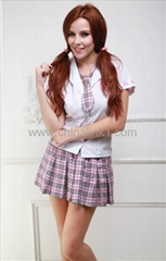 factory price Cutie School girl Costume uniform