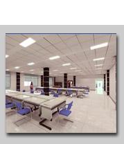 mineral wool board / mineral fiber ceiling board