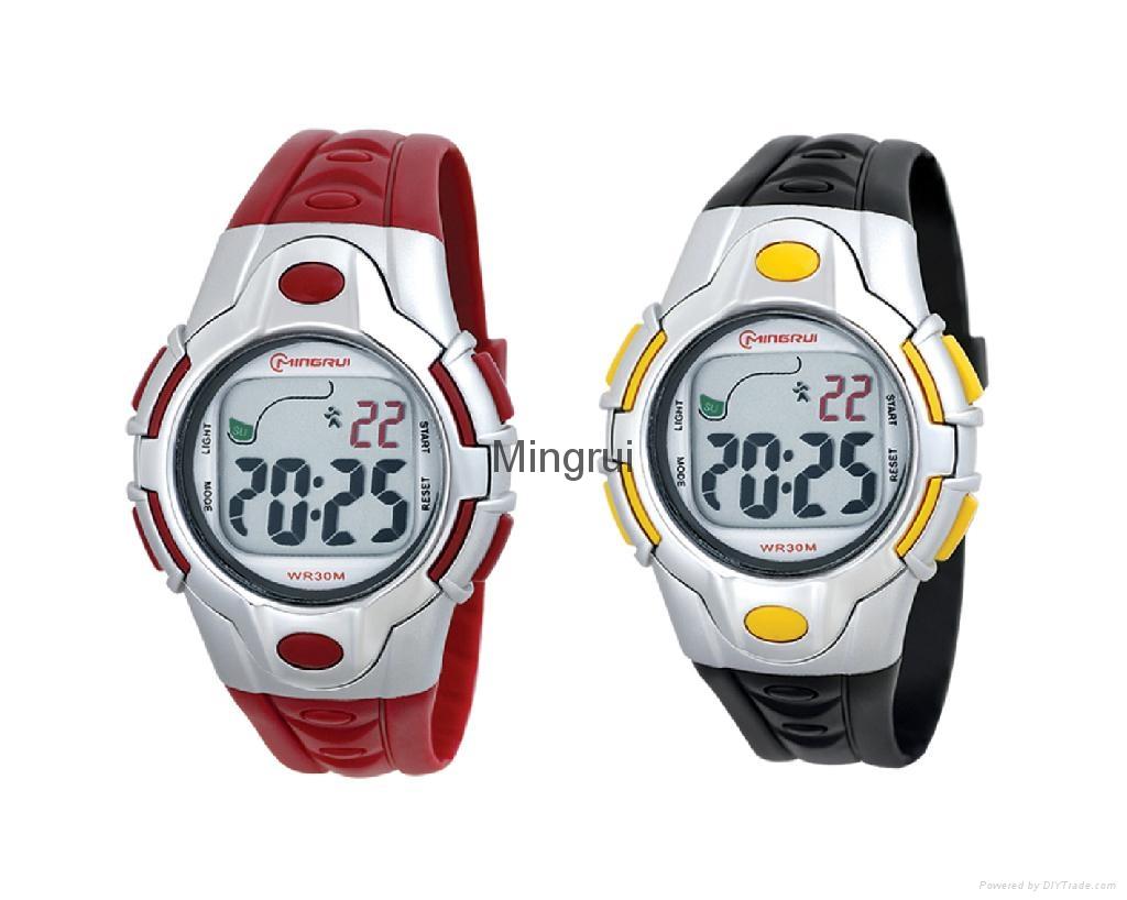 女士冷光運動手錶 1