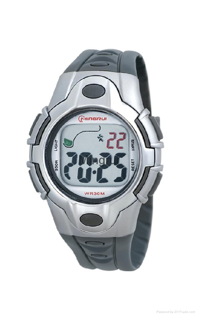 女士冷光運動手錶 3