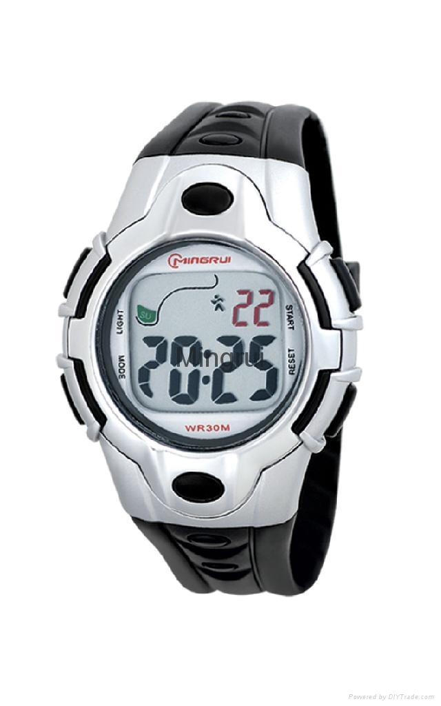 女士冷光運動手錶 2