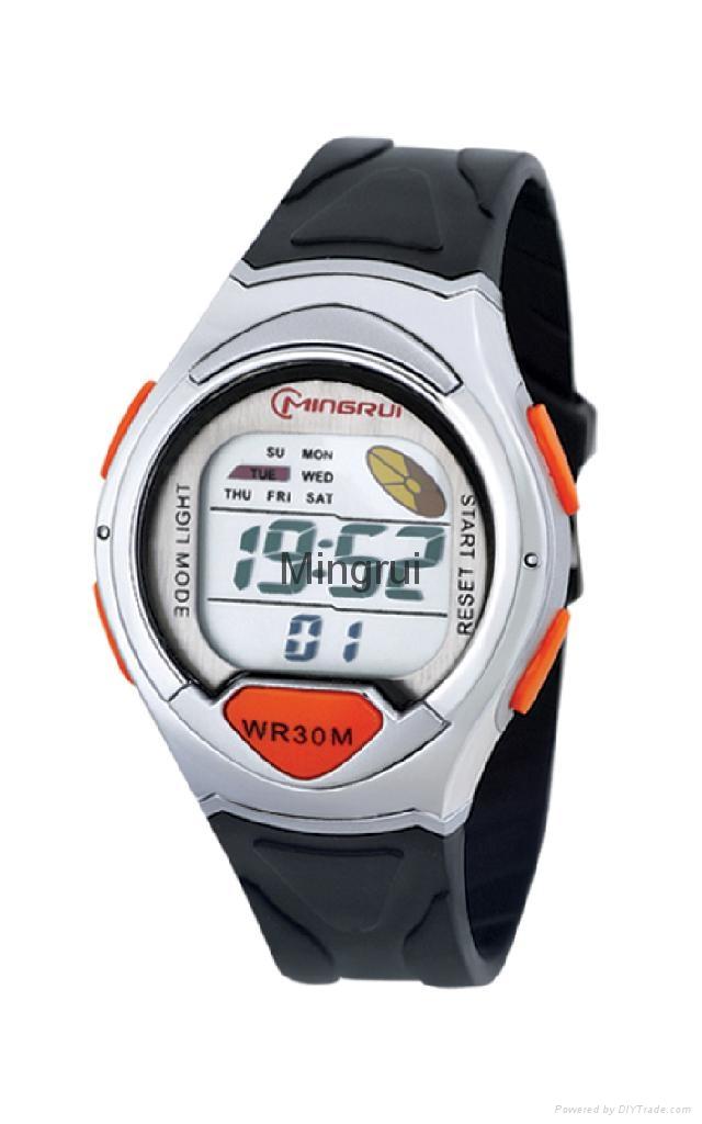 女士冷光运动手表 2