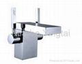 Double Handle Square Washbasin Faucet