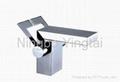 Double Handle Square Washbasin Mixer