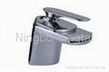 Single Lever Waterfall Washbasin Faucet 1