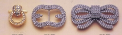Diamond decorative buckle