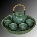 Celadon porcelain tea set 1