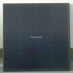 50W高效单晶太阳能板