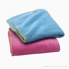 fleece blanket with anti