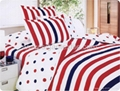 Microfiber bedding set