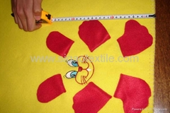 Blanket with applique