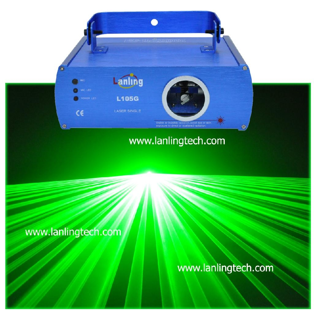 Dj Disco DMX 50mW Green Laser Light L105G Lanling China Manufacturer