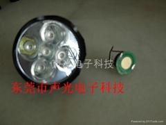 大功率手電筒5燈驅動板