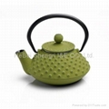 cast iron tea pot 1