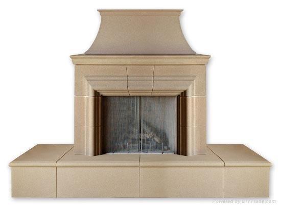 our door fireplace 1