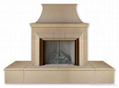 our door fireplace