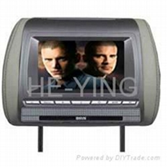 """7"""" inch headrest Monitor with SD card reader and USB slot"""