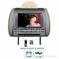 "7"" inch Car Headrest DVD player with SD"