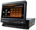"1 Din 7"" inch Car DVD player (GPS / IPOD"