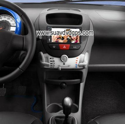 peugeot 107 factory stereo radio car dvd player digital tv gps -