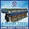 Eco Solvent Printer A-Starjet 7702 / 7702L Epson DX7 Series Large Format Printer 2