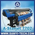 Eco Solvent Printer A-Starjet 7702 / 7702L Epson DX7 Series Large Format Printer 1