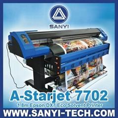 Eco Solvent Printer A-Starjet 7702 / 7702L Epson DX7 Series Large Format Printer