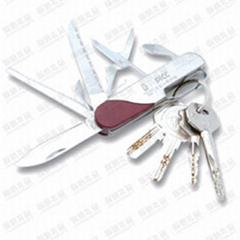 多功能金属钥匙扣