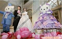 卡通人偶服装、卡通毛绒公仔服装、卡通婚庆礼仪服装、动漫服装