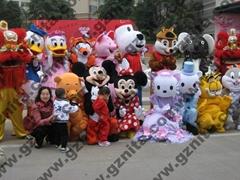 广州妮塔文化传播有限公司卡通人偶、卡通服饰、动漫服装、演出服
