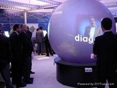 大型球形背投屏幕
