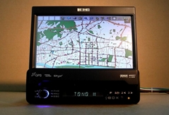 7 inch VGA TOUCH FM/AM monitor