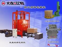 耐火磚拉伸包裝機/耐火材料包裝機/