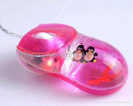 有线入油鼠标液体鼠标光电鼠标漂浮鼠标笑脸鼠标 1