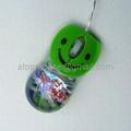 有线入油鼠标液体鼠标光电鼠标漂浮鼠标笑脸鼠标 2