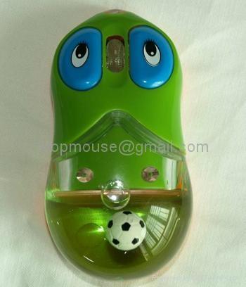 有线入油鼠标液体鼠标光电鼠标漂浮鼠标大眼睛入油鼠标 1