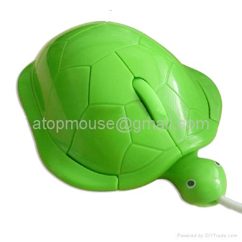 乌龟光电鼠标,卡通有线鼠标 礼品鼠标 1