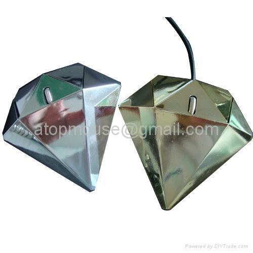 新款钻石造型鼠标礼品鼠标 1