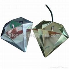 新款钻石造型鼠标礼品鼠标