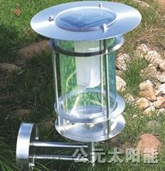 stainless steel solar lawn light
