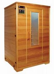 2 person deluxe sauna room