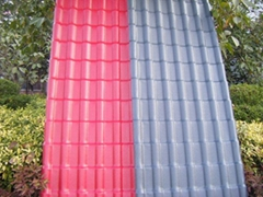 ASA/PVC coextruded roof sheet