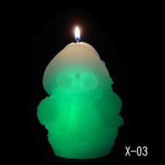 christmas series candle