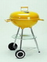 Apple style charcoal grill