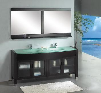 Bathroom Vanity Tops on Wood Bathroom Vanity Top    Bathroom Design Ideas