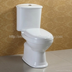 Two Piece Toilet(AT-008)