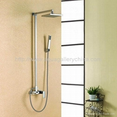 Square Shower  Mixers(A-F124)