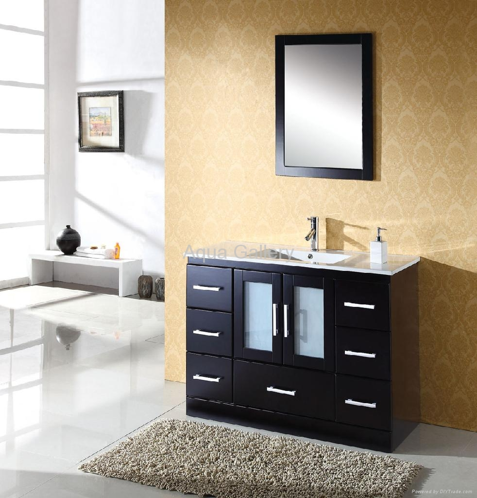 Free Standing Single Sink Bathroom Vanity Sets X 025