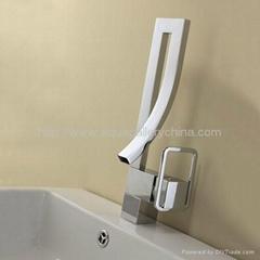 Unique Brass Chrome Basin Faucet AF001A