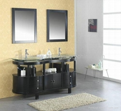 Foshan Leading Supplier of Bathroom Vanity Furniture X-053